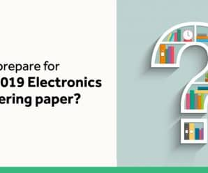 How to prepare for gate GATE 2019 for Electronics paper?